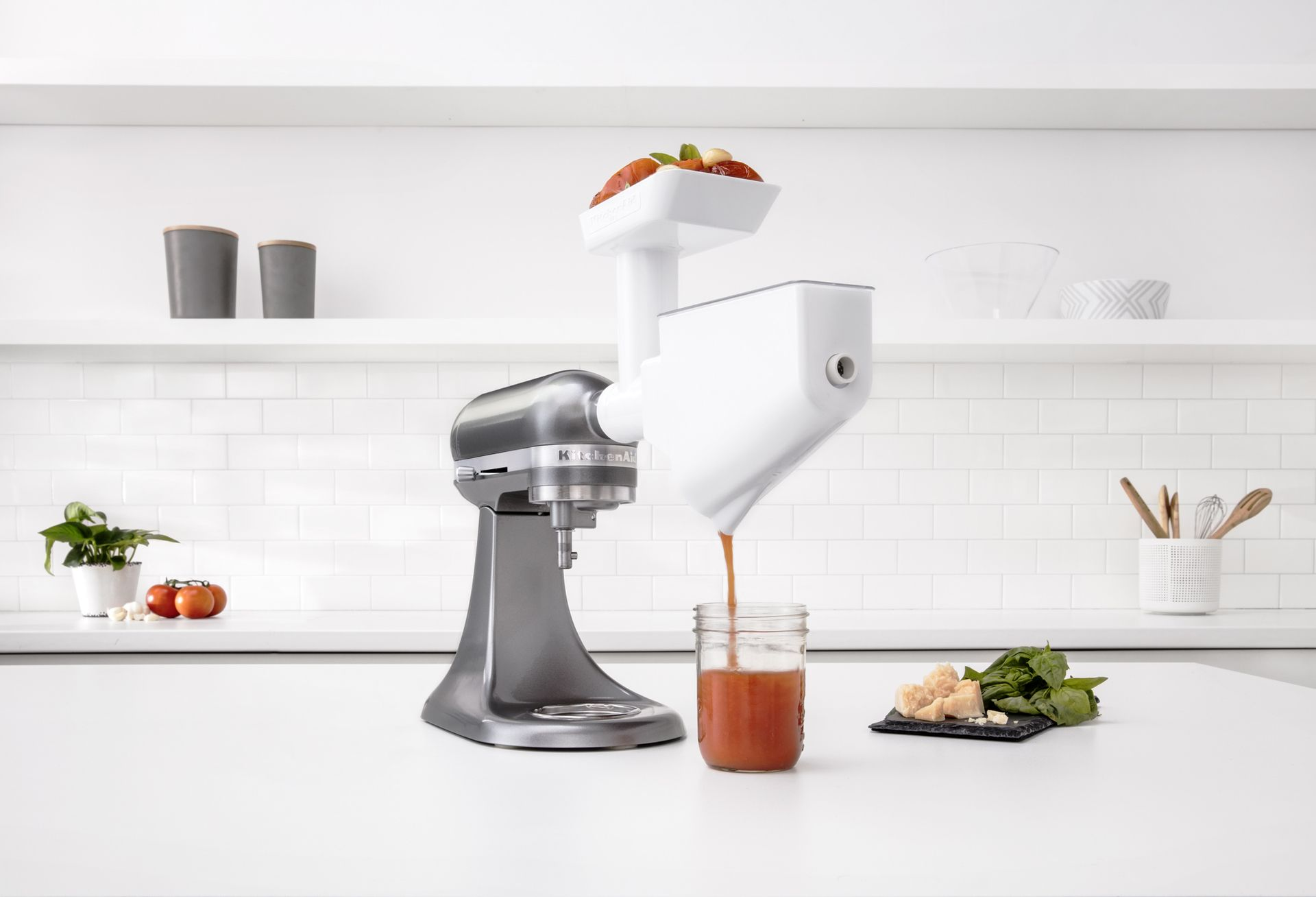 Kitchenaid With Fruit Vegetable Strainer Fvsp Must Be Used In