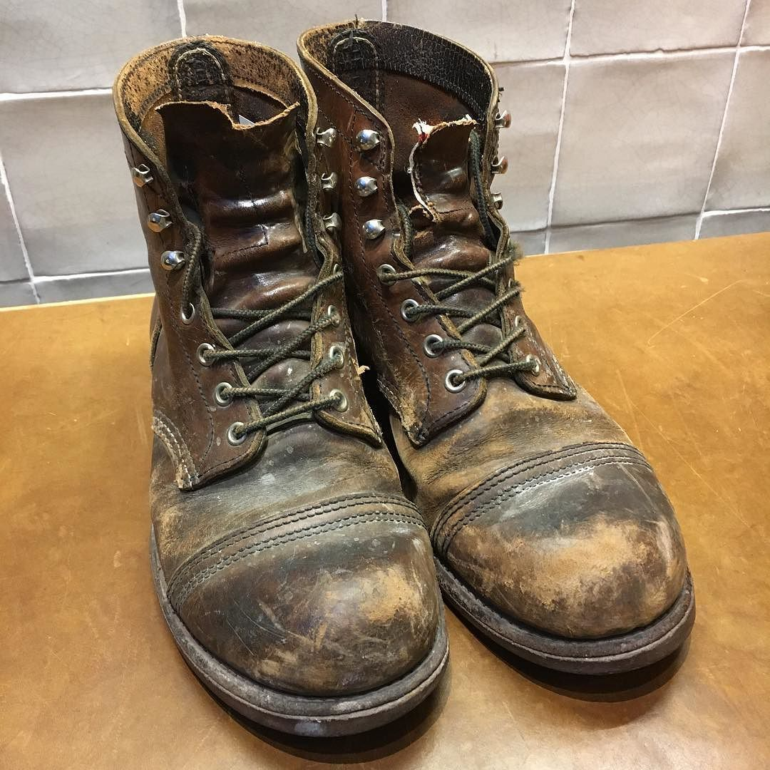 The owner of this pair Red Wing Shoes 8111 Iron Rangers worn