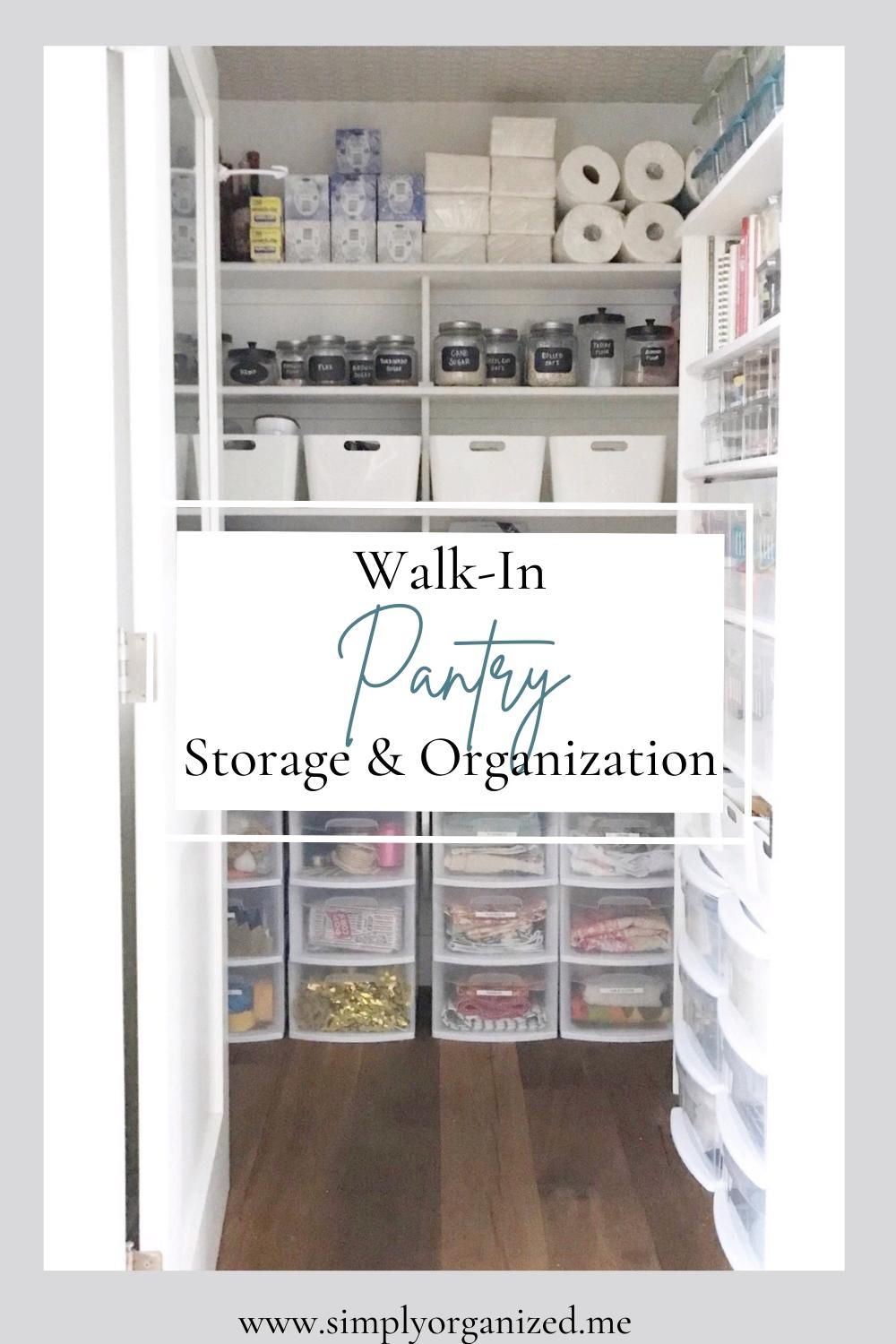 Photo of Pantry organization ideas. Walk in pantry storage and organization.