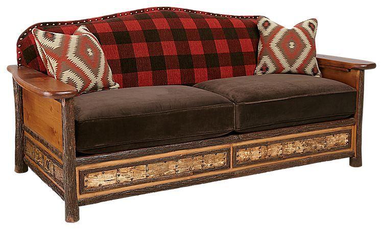Gentil Old Hickory Furniture Woodland Living Room Furniture Collection Sofa