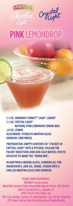 Go Tropical With This Tangy Twist On Crystallight Natural Lemon Iced Tea With Smirnoffsorbetlight Mango Passion Fruit Smirnoff With Images Mango Drinks Lemonade Drinks