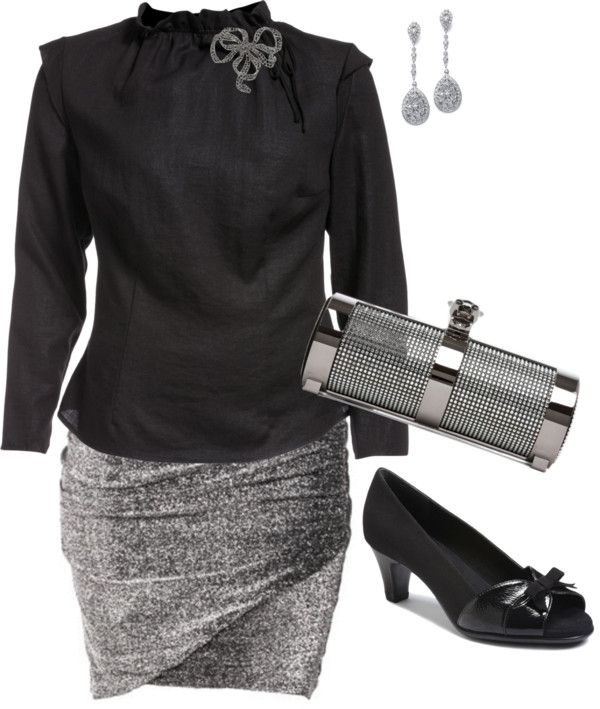 """""""Sparkle - Pus Size Fashion"""" by aracely26 ❤ liked on Polyvore"""