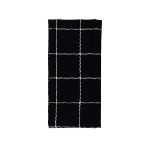 burlap black check kitchen hand towel dishtowel 20 x 28 rh pinterest com