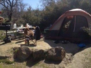 Tent Camping Lake Cuyamaca Camp Lake Lake Tent Camping