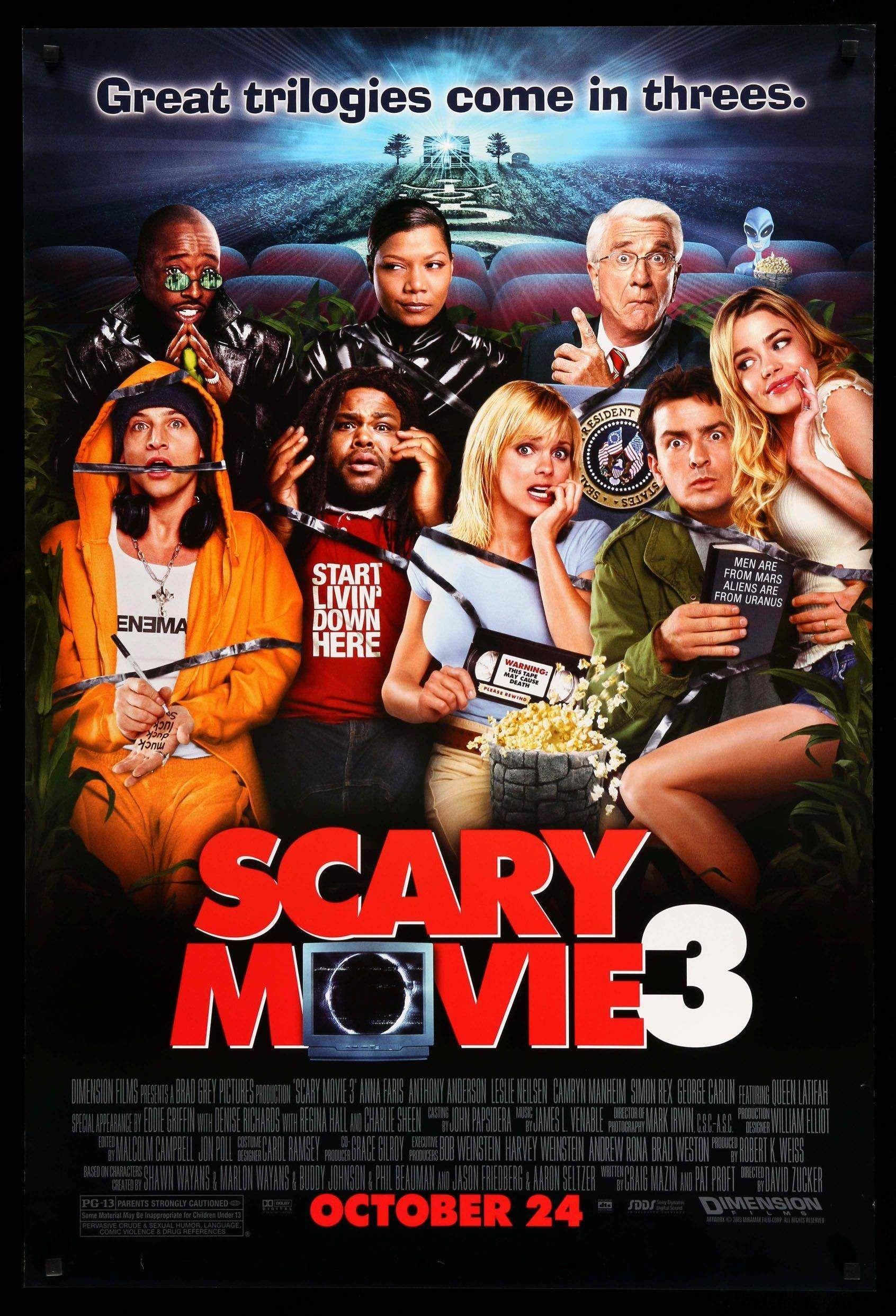 Scary Movie 3 2003 In 2020 Scary Movie 3 Scary Movies Scary Movie 2