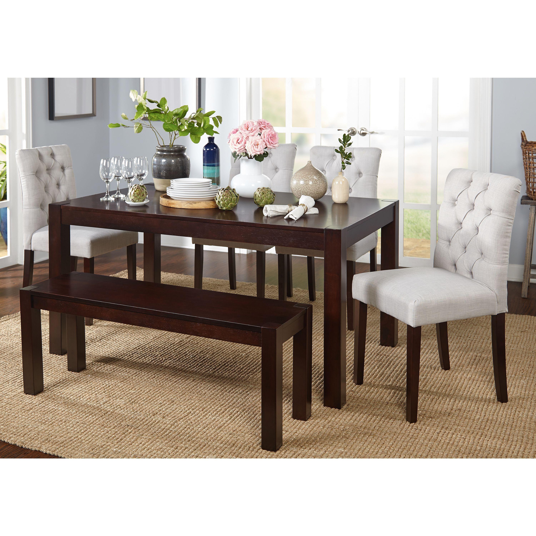 34++ Simple living rubberwood farmhouse table inspiration