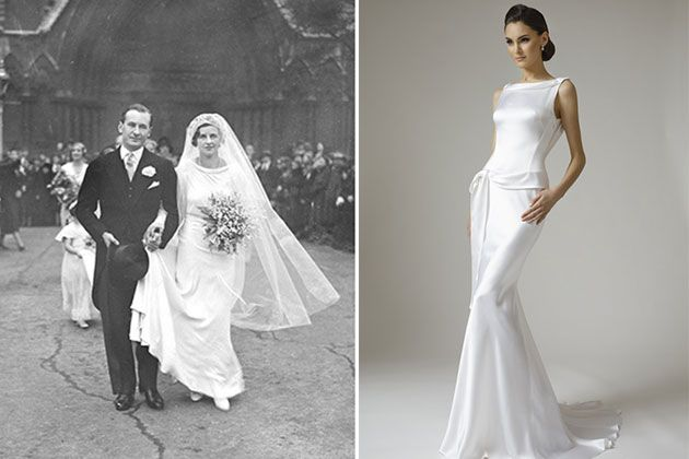 Brides Wedding Dresses By Decade Modernized Picks From Vintage Inspiration