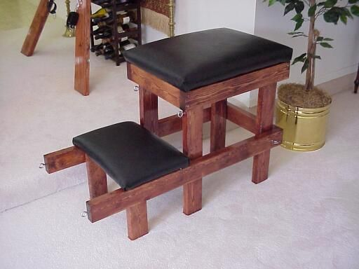how to build a spanking bench