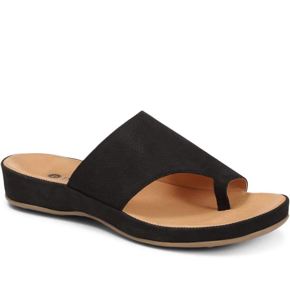 e7cf45d34f68d3 Be noticed for your stylish shoes not your bunions! Leather Sandal  (EXC25001) by