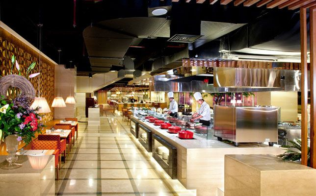 Restaurant Open Kitchen Concept For Restaurant Open Kitchen Design Home Interior Ideas With The Concept Designing