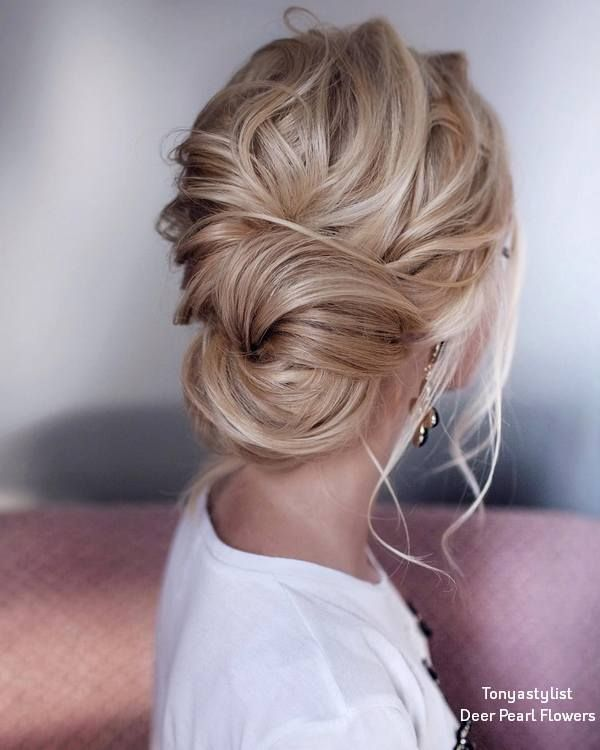 20 Drop-Dead Bridal Updo Frisuren Ideen von Tonyastylist #bridalhairflowers