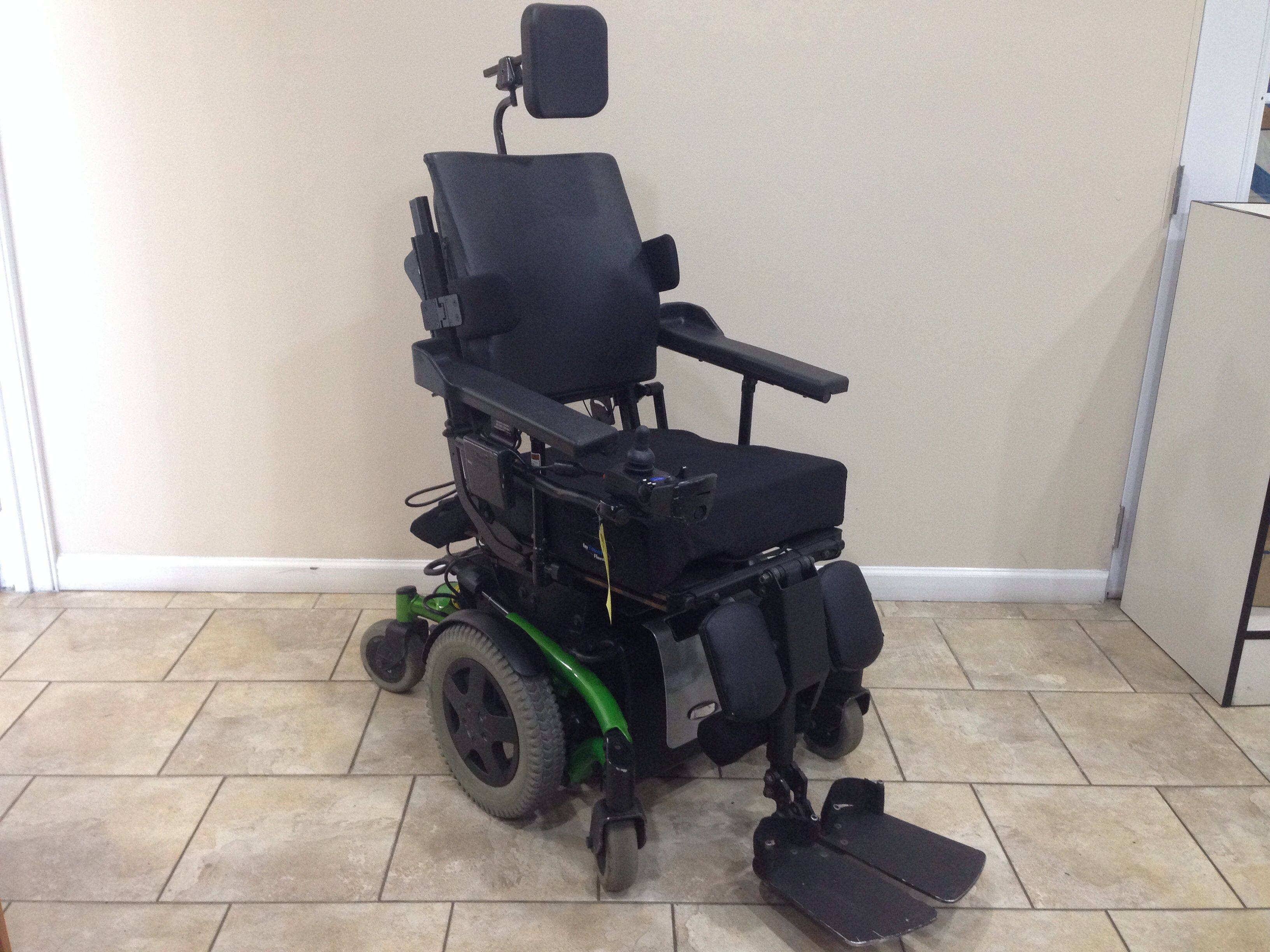 Pronto Power Chair Invacare Tdx Sp Rehab Power Tilt Recline Legrest Used