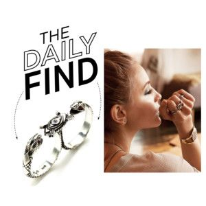 The daily find: Pamela love duel double finger ring