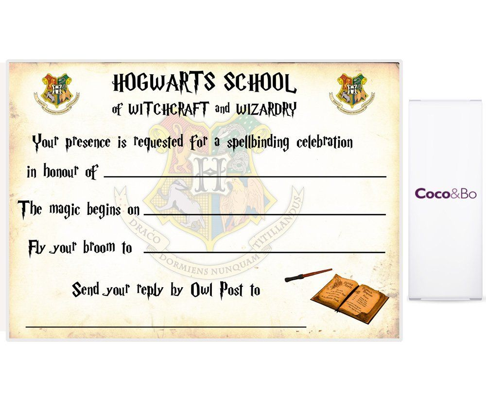 picture about Printable Harry Potter Invitations referred to as Harry Potter Ticket Invitation Template Bagvania Free of charge