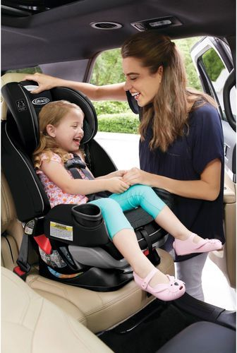 Graco 4ever Extend2fit 4 In 1 Car Seat Clove 2001871 Best Buy Car Seats Baby Car Seats Graco