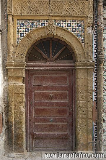 Maroc : porte - Voyages en Images