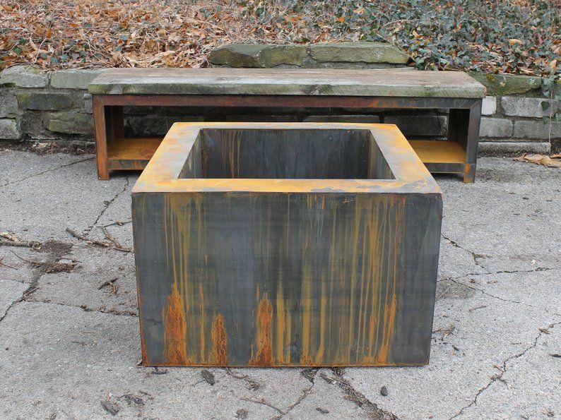 Mr Toasty 30 Corten Fire Pit Free Shipping Etsy Weathering Steel Fire Pit Corten