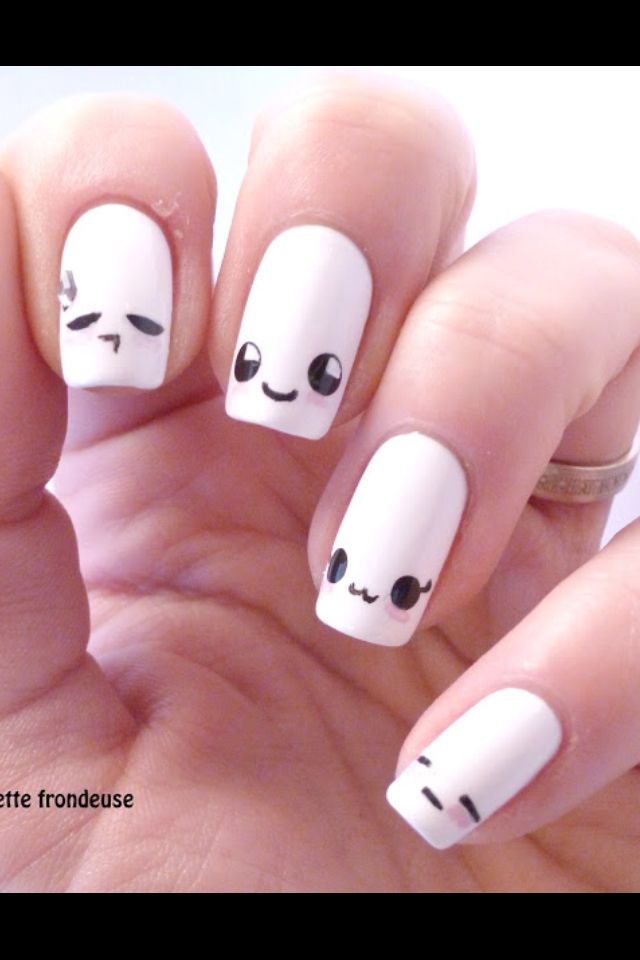 Kawaii nail art is a very famous and cute looking in Japanese series. Here  are the top 9 Kawaii nail art designs that you can try out. - Ik Vind Het Leuk Om Nagels Te Lakken. Nails Pinterest Manicure