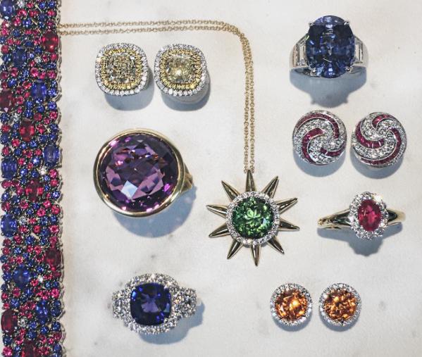 Engagement Rings Kansas City: 14K Yellow Gold Diamond Necklace
