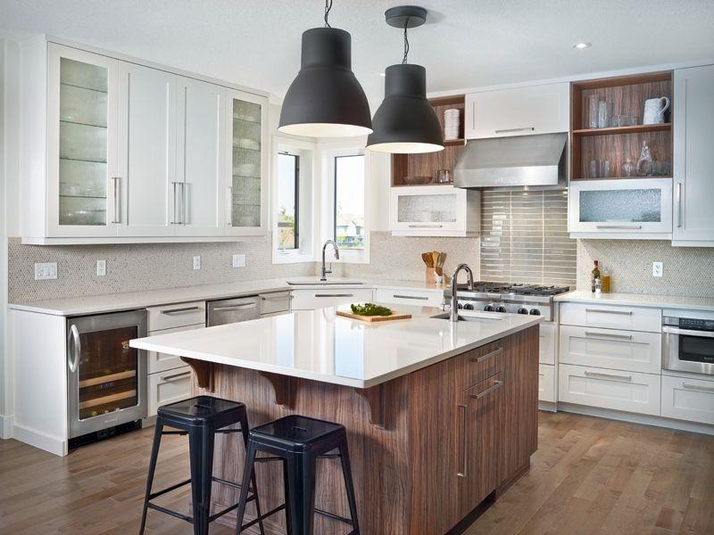 Get The Look Bright And Modern West Coast Kitchen Kitchen