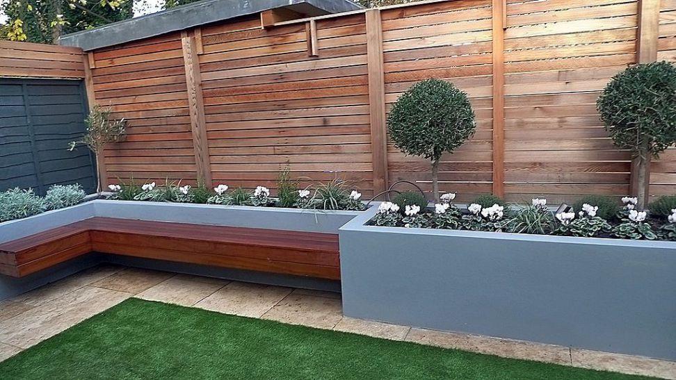 Modern Flower Bed Ideas 49 Garden Design London Back Garden