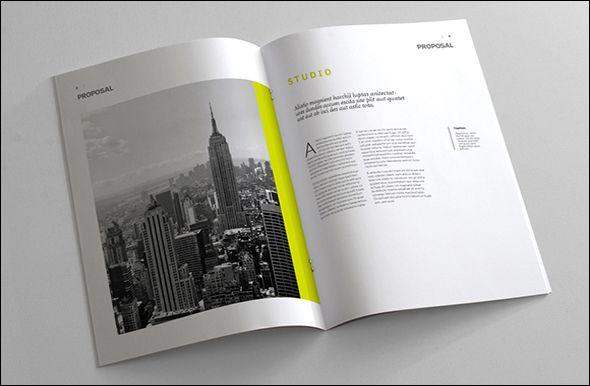 Free Photo Realistic Corporate Brochure Template Designs - Tri fold brochure template psd