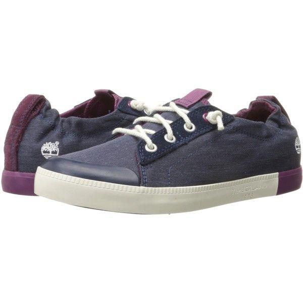 812c879256e2 Timberland Newport Bay Canvas Plain Toe Oxford (Navy) Women s Shoes ( 53) ❤
