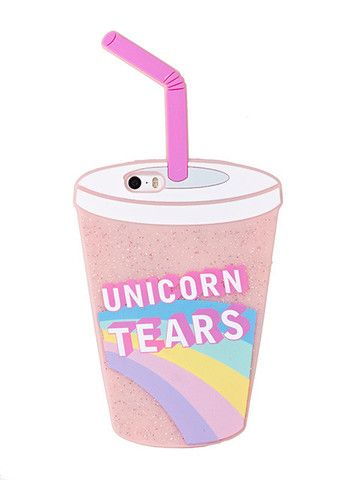 iPhone 5/5S Unicorn Tears Silicone Case