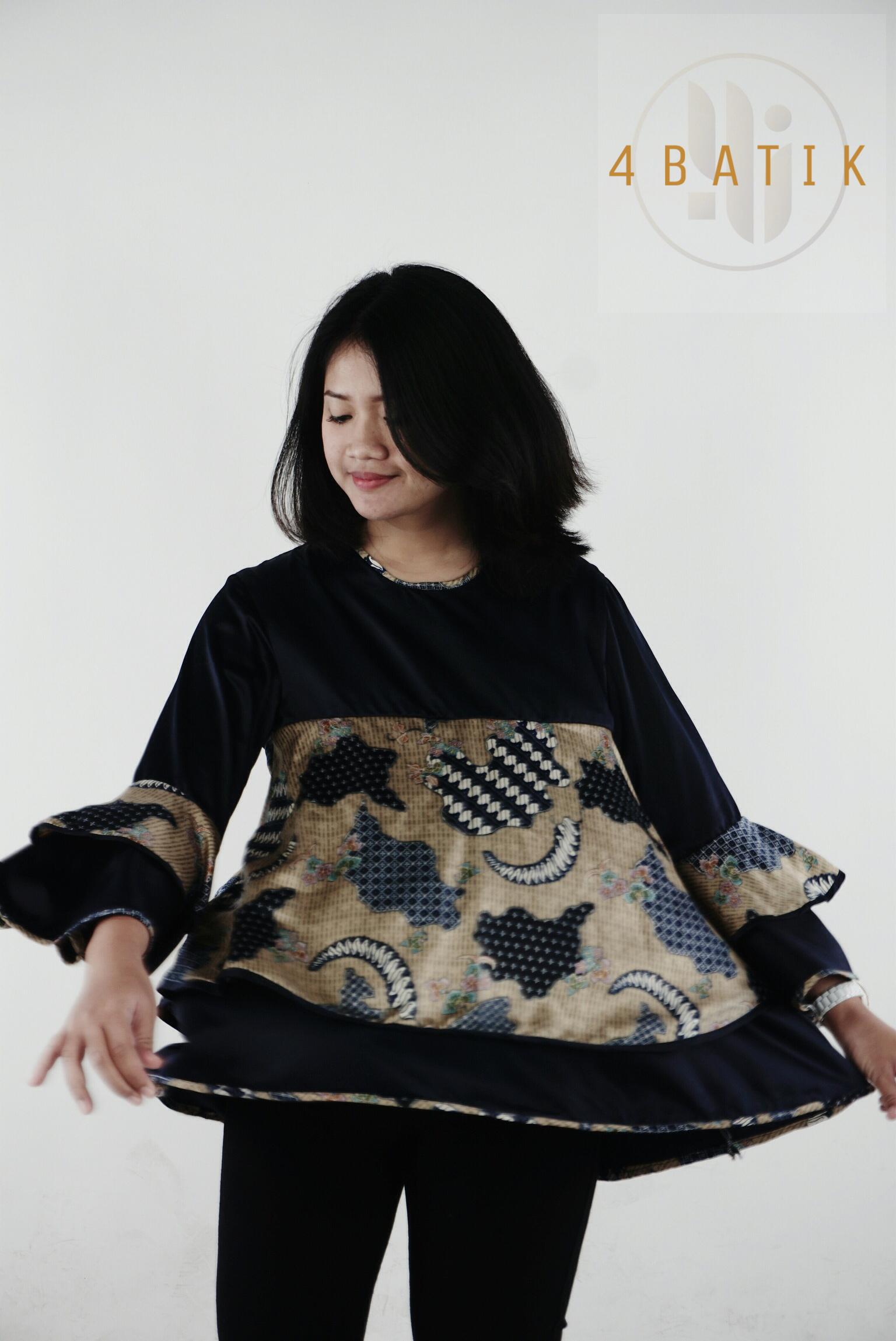 Batik Modern (Semi Sutra) Combine with Dior
