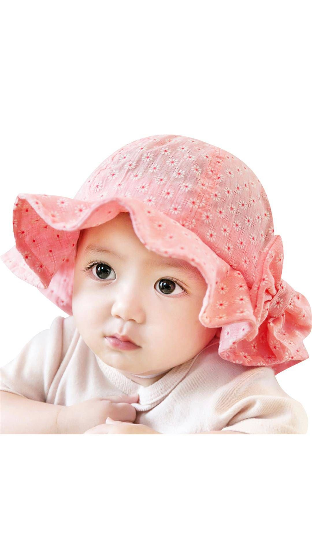 88630cdd324 Baby Girl Sun Beach Bucket Hat #SunHat   Find a great selection of ...