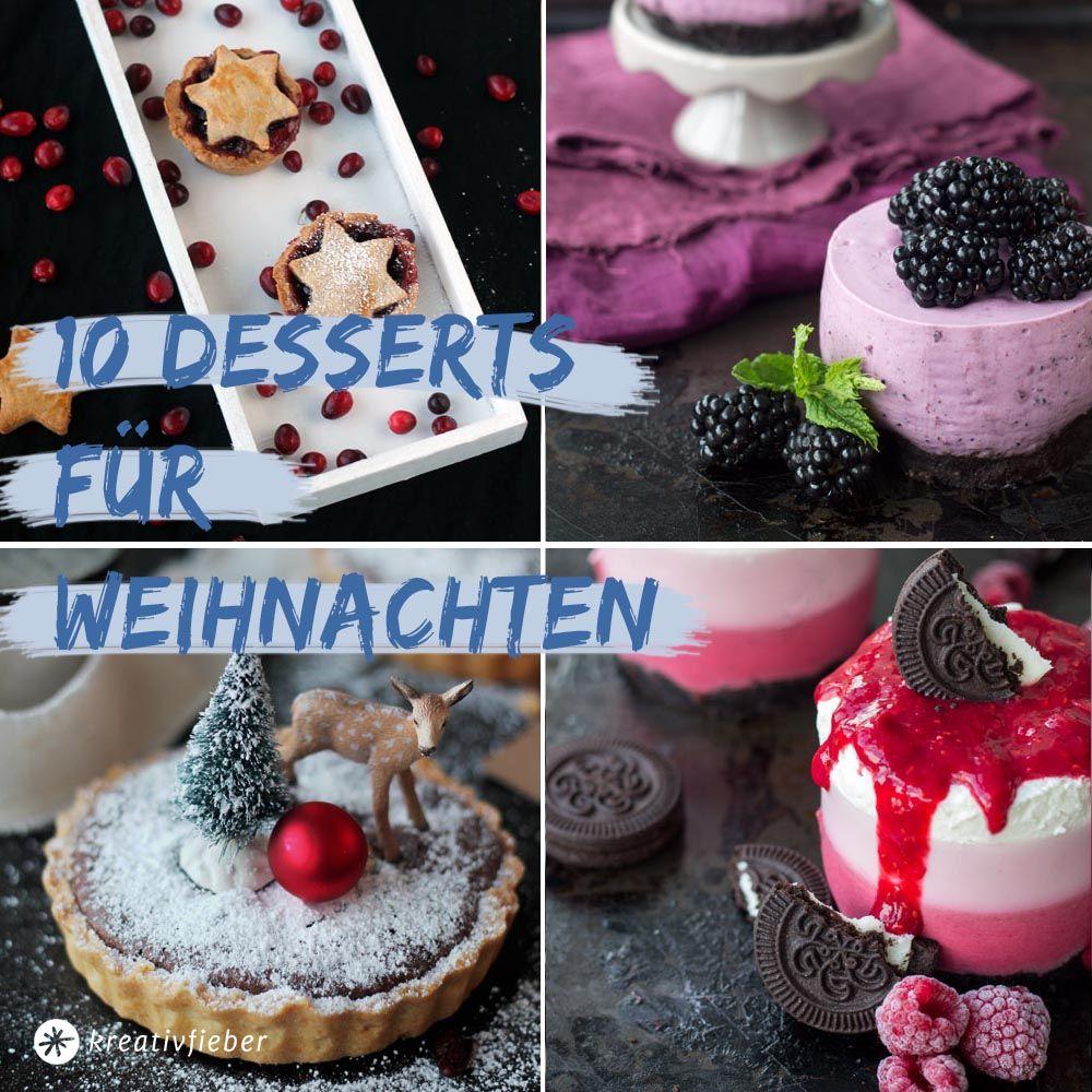 10 desserts f r weihnachten dessert f r weihnachten. Black Bedroom Furniture Sets. Home Design Ideas