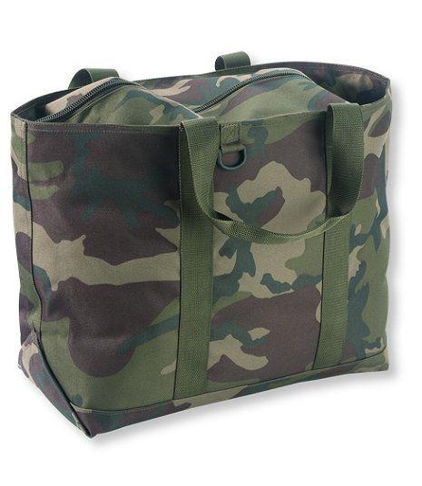 Hunter's Tote Bag, Zip-Top