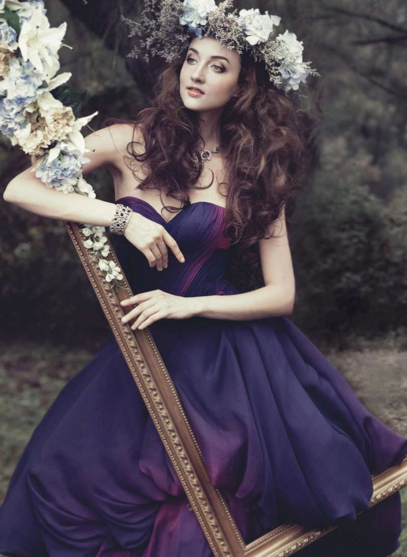 Forest-inspired Headpieces Fairytale Fashion Editorial