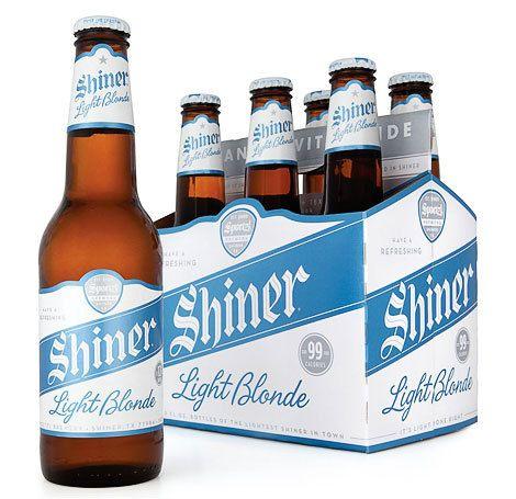 Shiner Light Blonde Cerveja Embalagens Fotografias