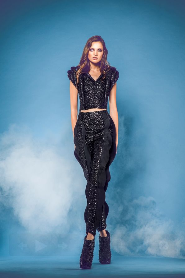 Jean-louis Sabaji F/W 2014 collection Photography by Rabee Younes