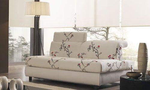 Sofa cama flores deco pinterest sof s cama sof y - Sofas bonitos ...