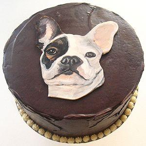Miraculous Dog Cake By Dena Paige Fischer Baked Ideas Nyc Dog Cake Dog Funny Birthday Cards Online Inifodamsfinfo
