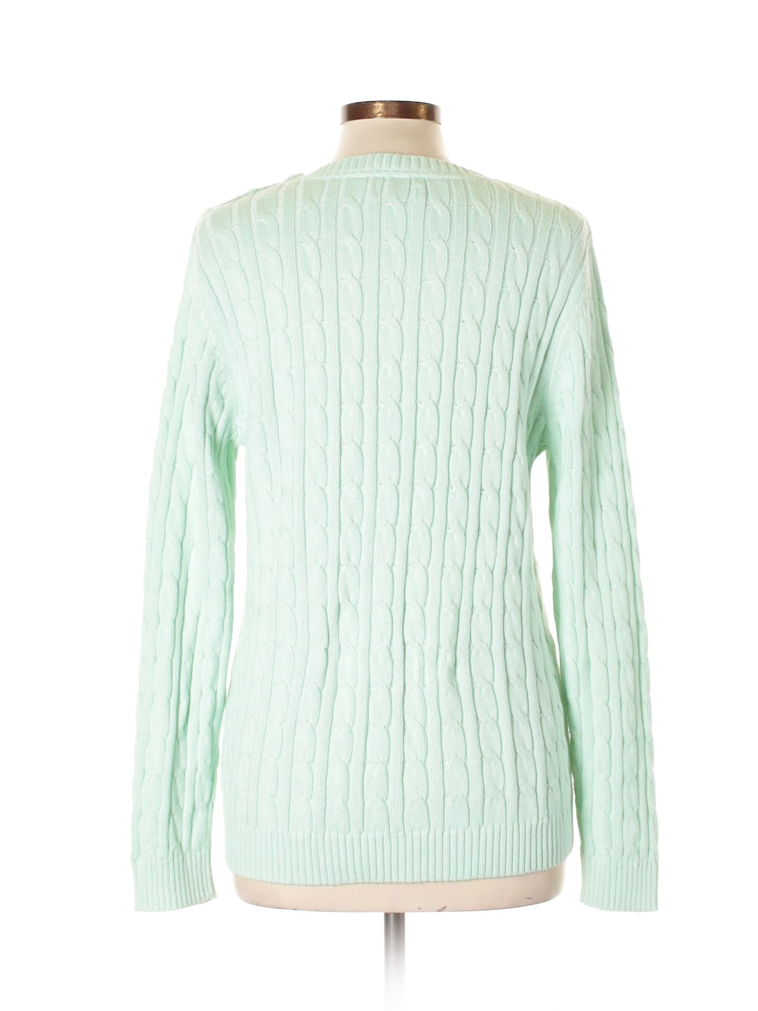 Croft u Barrow Pullover Sweater Light Green Womenus Tops