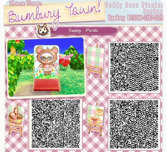 Picknik Blanket Animal Crossing New Leaf Qr Codes Animal