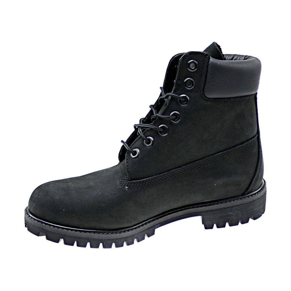 Buty Timberland Premium 6 Inch M 10073 Czarne Timberland Premium Timberland Black Shoes
