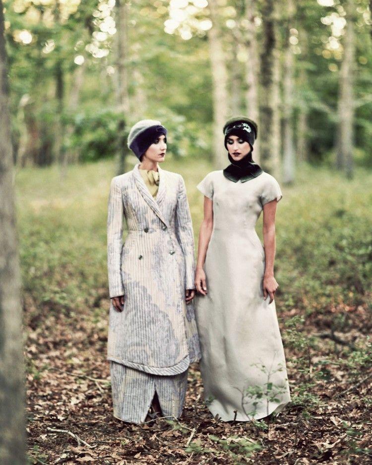 TheGlamourai celebrates sisterhood with the Emporio #Armani FW13 collection on the DanniJo Jewels power duo.