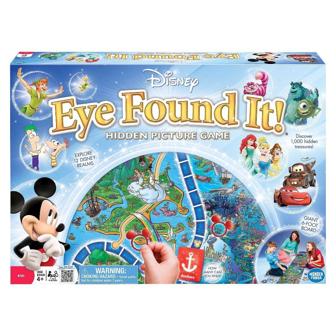 disney eye found it hidden picture game my little girl s wish list