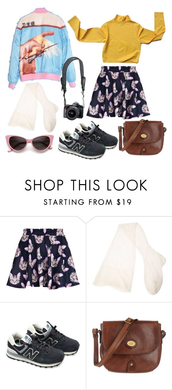"""gdsya"" by pallo ❤ liked on Polyvore featuring CERVIN, New Balance, The Bridge and Reef"