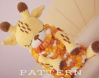 Crochet pig PATTERN pdf | toy for children's room | piggy toy | big pig crochet pattern | amigurumi easy tutorial | stuffed animal toy