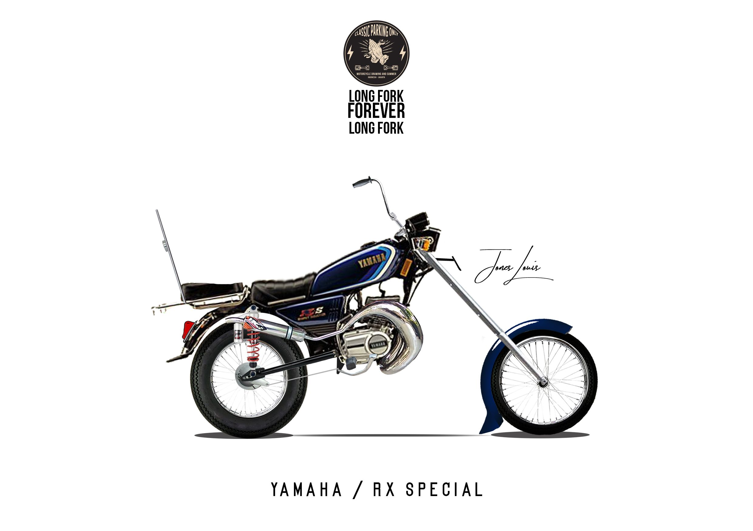 Yamaha Rx Special Mark Xvii Herex Two Stroke Mobil
