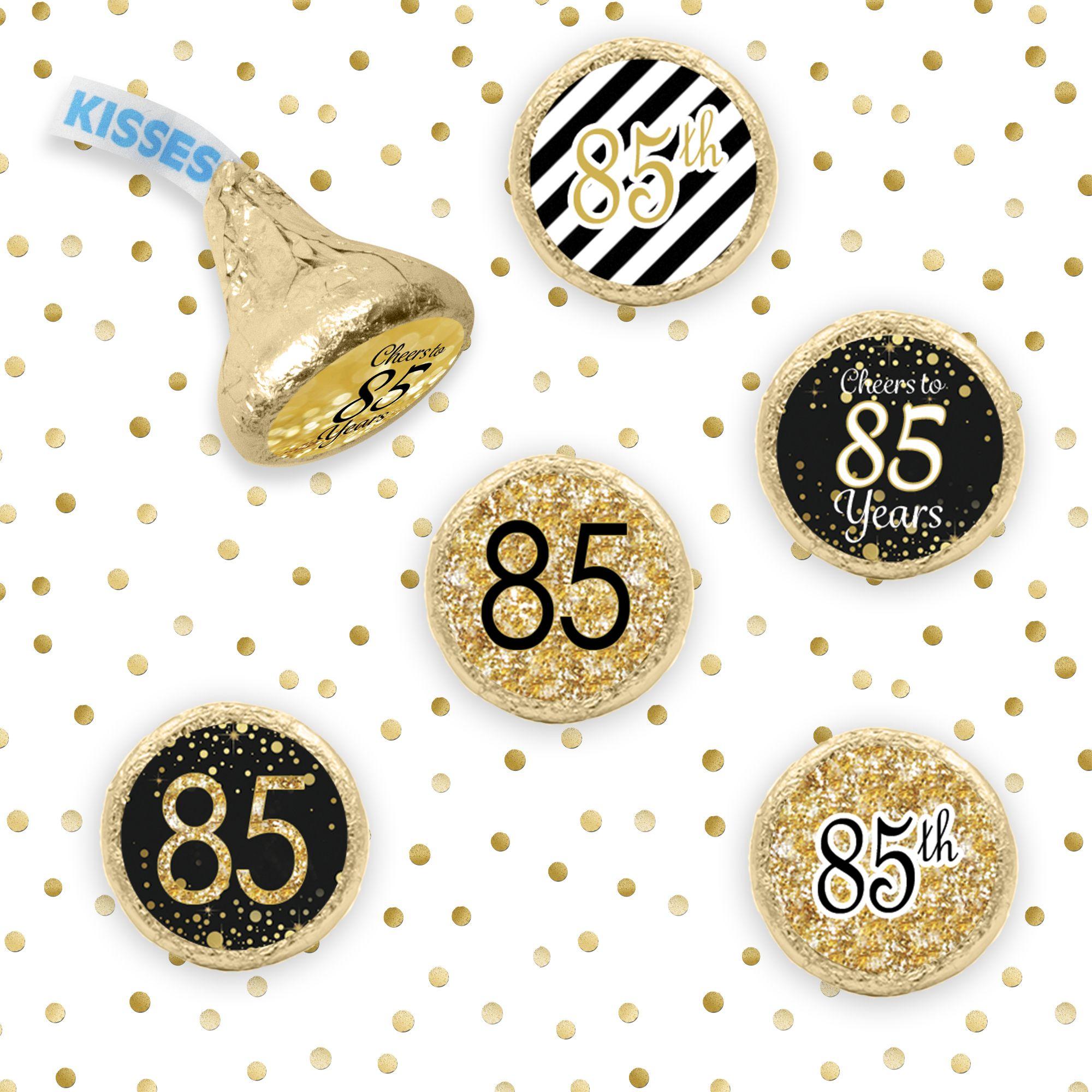 Fun Happy 85th Birthday Party Favor Idea