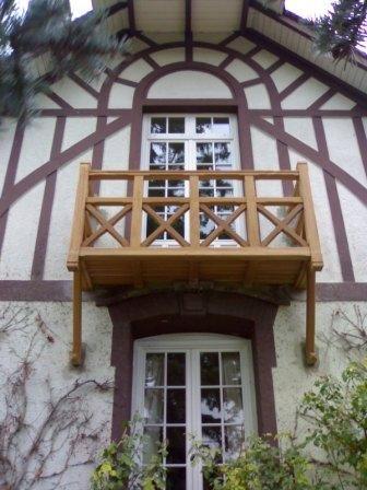 balcon en bois exotique 2 balcon balcon bois bois exotique et bois. Black Bedroom Furniture Sets. Home Design Ideas