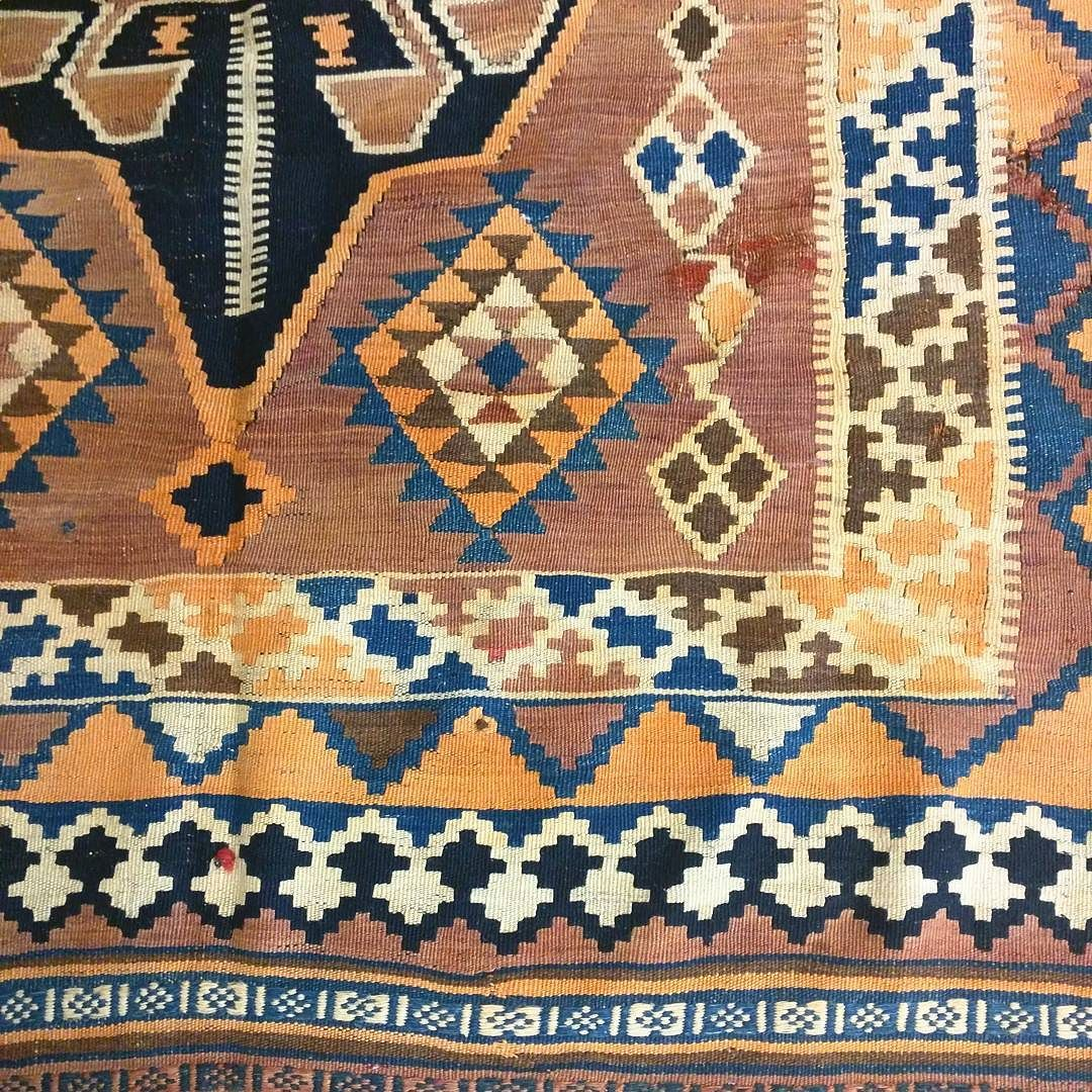Antique Persian Kilim Over 120 Years
