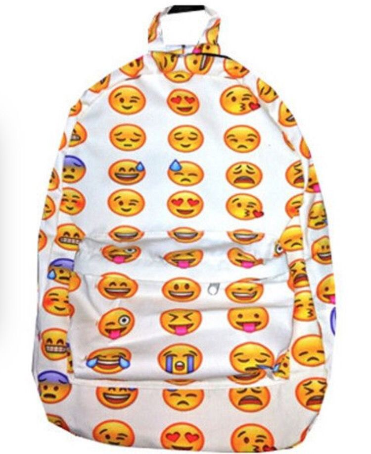 This Is A Diy Emoji Backpack 1 Take A Woolbackpack And Put In A
