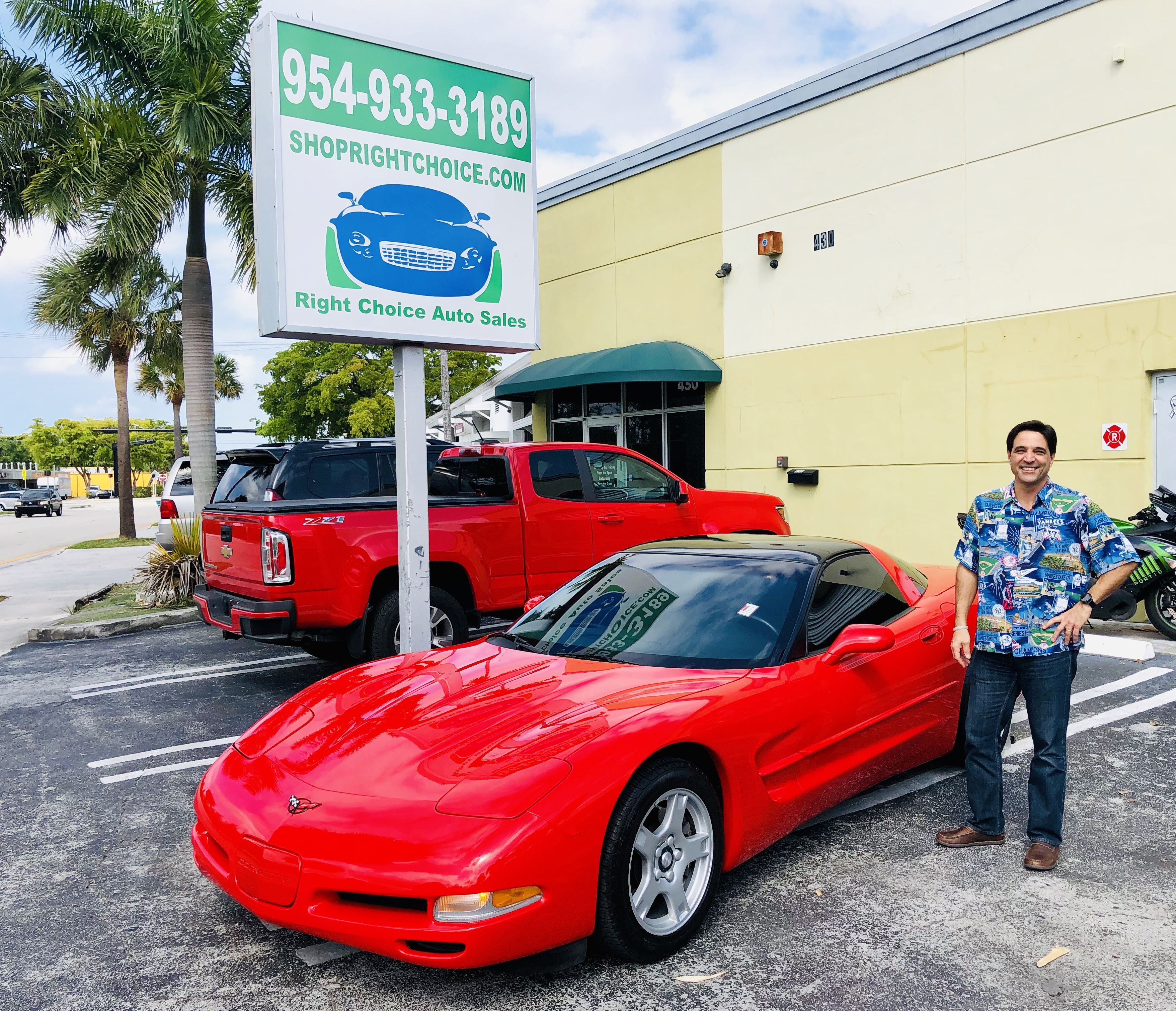 Another Happy Car Buyer At Right Choice Auto Sales